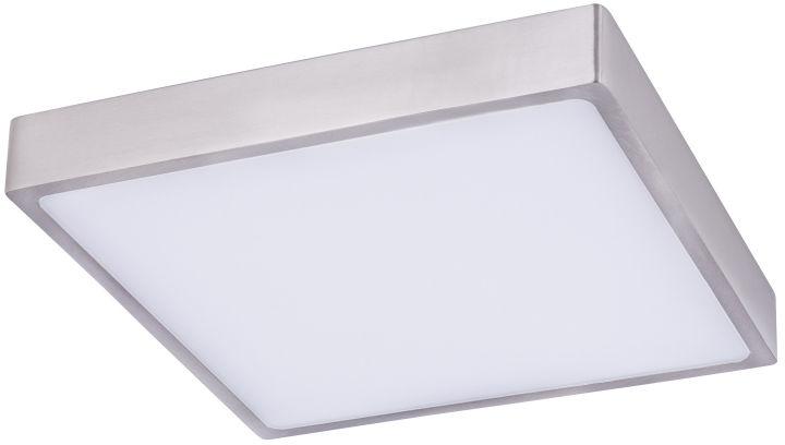 Globo VITOS 12367-30 plafon lampa sufitowa nikiel mat ściemniacz LED 28W 4000K 22cm IP20