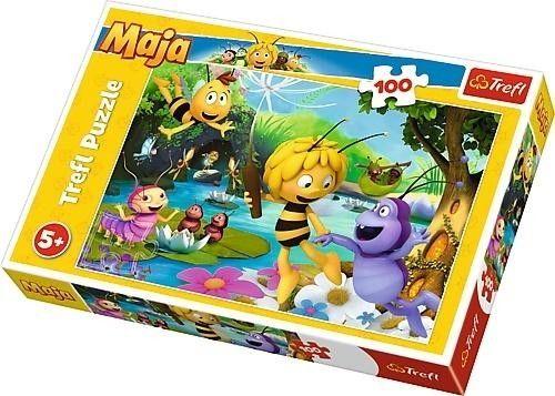 Puzzle TREFL 100 - Pszczółka Maja i przyjaciele, Maja the bee and friends