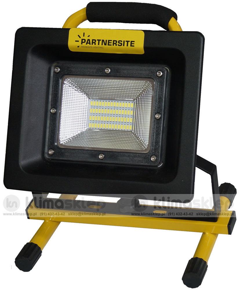 Naświetlacz LED SMD Partnersite LSR20A z akumulatorem - oświetlenie warsztatowe