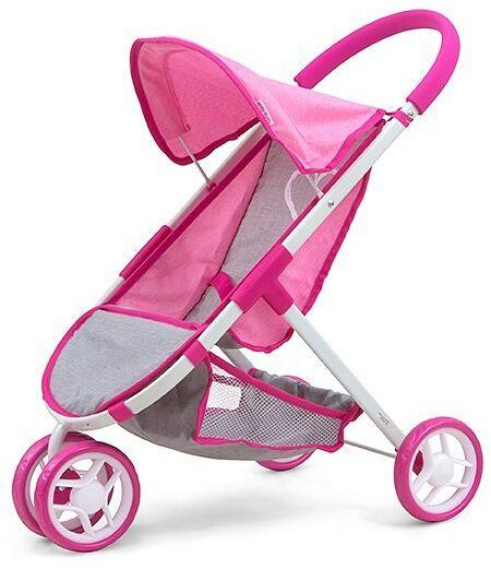 Milly Mally Wózek dla lalek Susie Prestige Pink