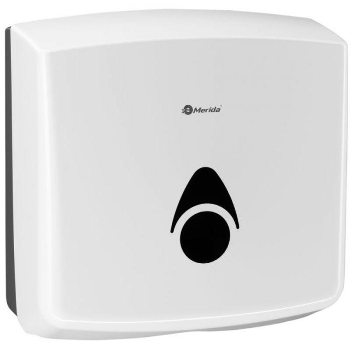 Pojemnik na pojedyncze ręczniki papierowe Merida Como, biały