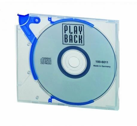 Etui na CD/DVD QUICKFLIP STANDARD 10 sztuk 5288 06