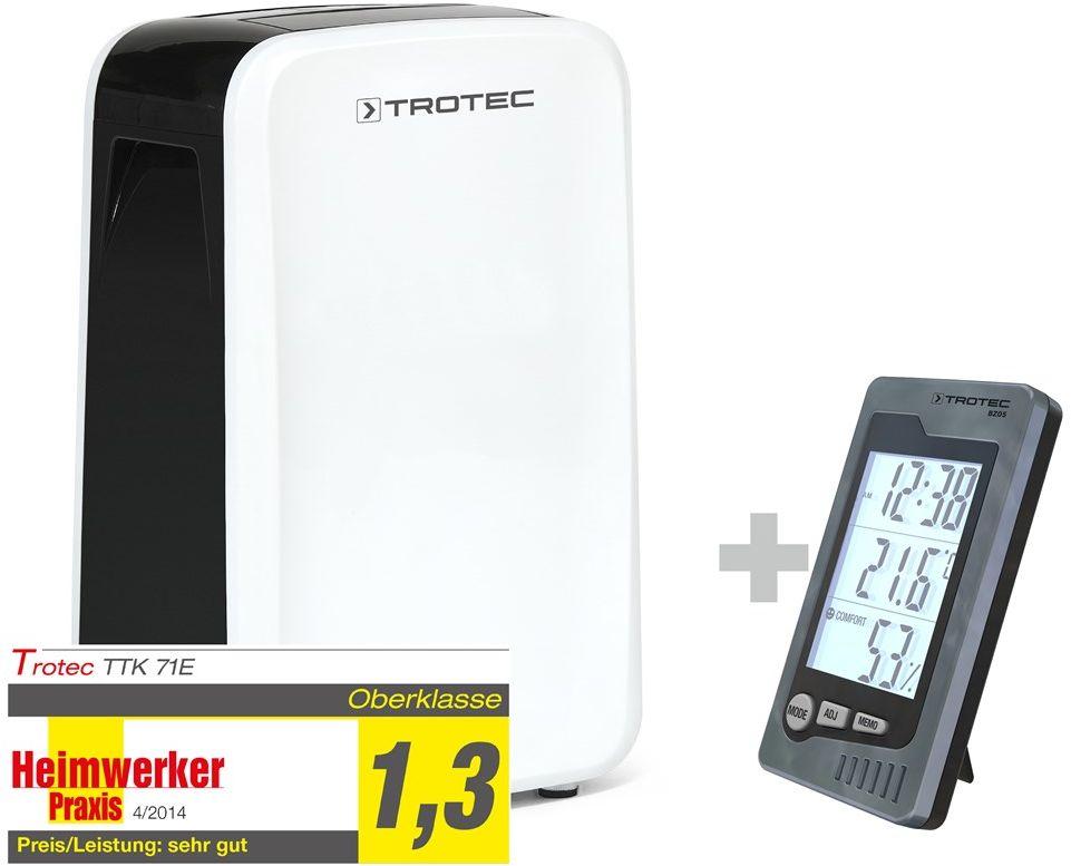 Osuszacz powietrza TTK 71 E + termohigrometr pomieszczeniowy BZ05