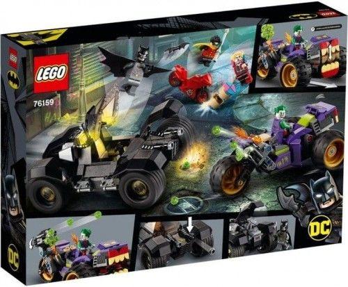 LEGO  - DC COMICS SUPER HEROES - BATMAN: TRÓJKOŁOWY MOTOCYKL JOKERA - 76159