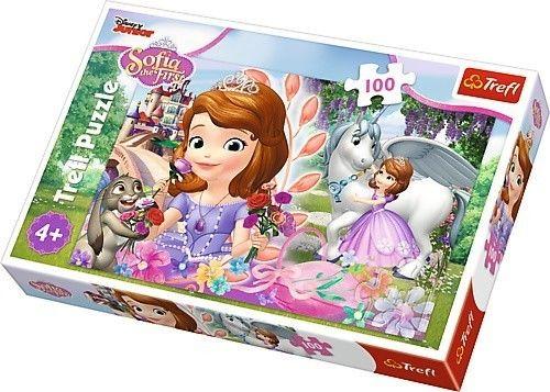 Puzzle TREFL 100 - Sofia W królestwie przygód, Kingdom of adventures