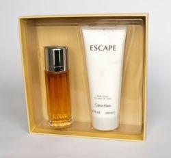 Calvin Klein Escape Woman balsam do ciała 200ml + woda perfumowana - 100ml - Darmowa Wysyłka od 149 zł