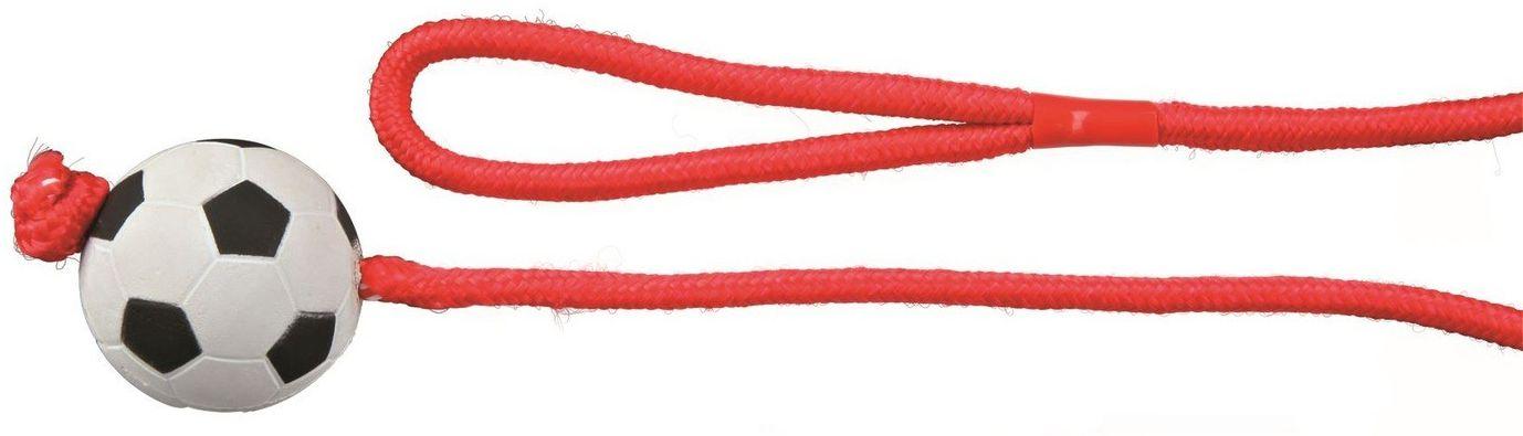 TRIXIE - Piłka gumowa na lince 6cm/100cm