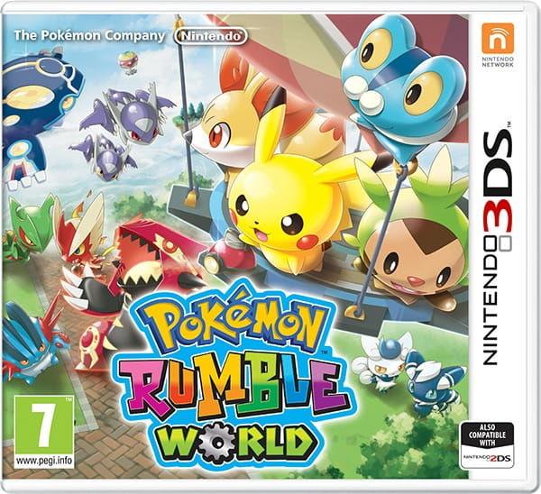 Gra Pokémon Rumble World (Nintendo 3DS)