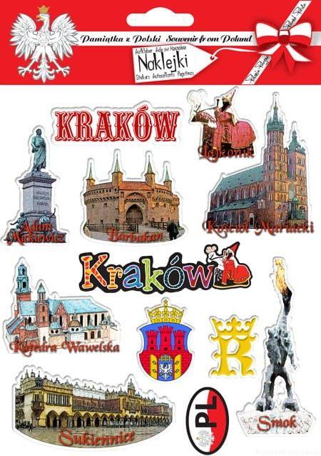 Naklejki wypukłe - Kraków