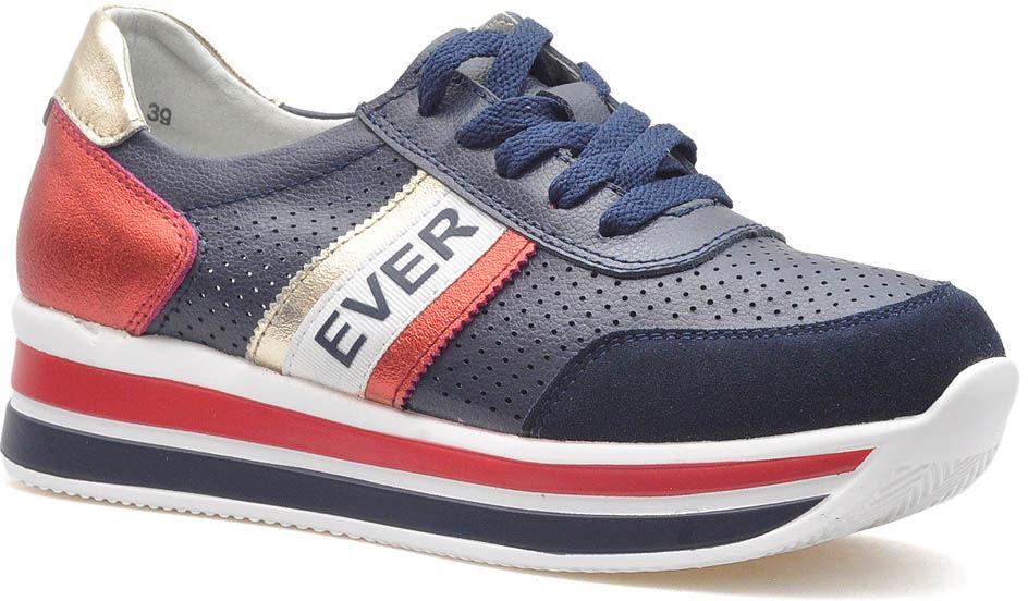 Sneakersy Filippo DP1414/20 NV Granatowe lico