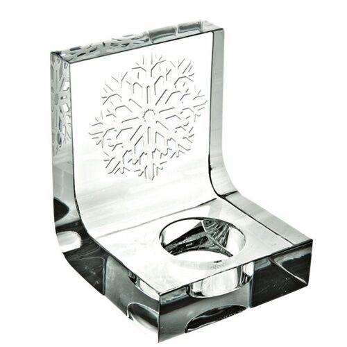 Świecznik kryształowy Snowflake Glitter Vista Alegre