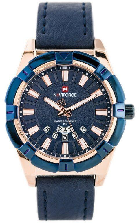 ZEGAREK MĘSKI NAVIFORCE - NF9118 (zn054f) - blue