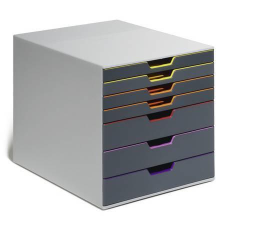 Pojemnik 7 szuflad DURABLE VARICOLOR - X01389