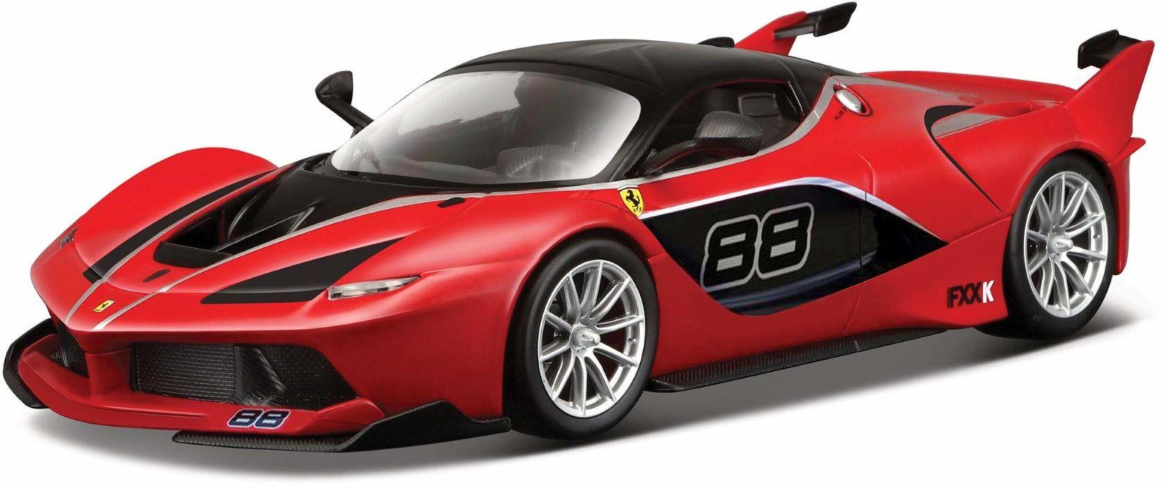 """Bburago 18-36906R """"Ferrari FXX-K"""" odlew ciśnieniowy, skala 1:43 - różne kolory"""