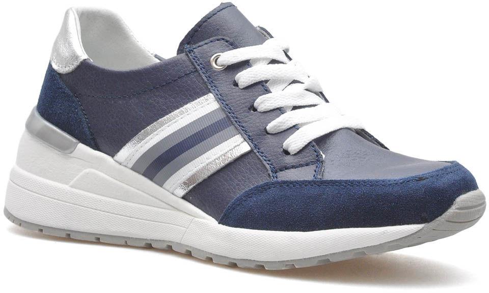 Sneakersy Filippo DP1420/20 NV Granatowe lico