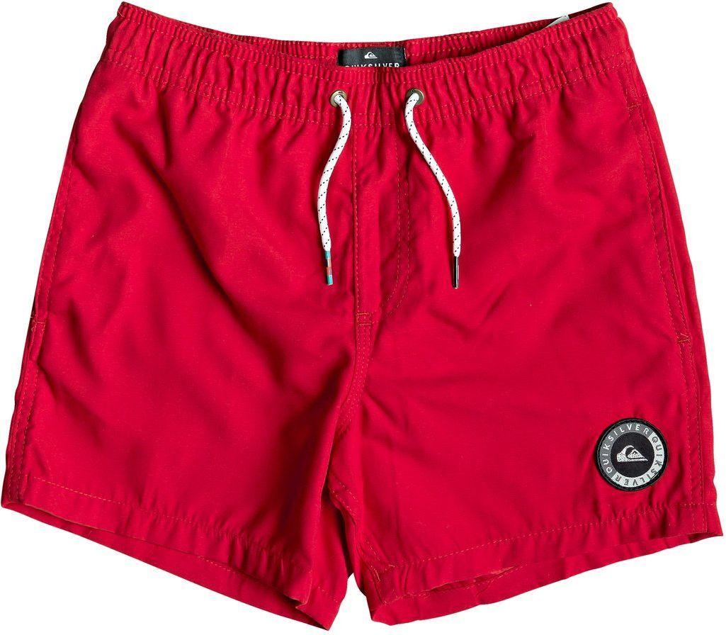spodenki pływackie dziecięce QUIKSILVER EVERYDAY 13 YOUTH Quik Red - RQR0