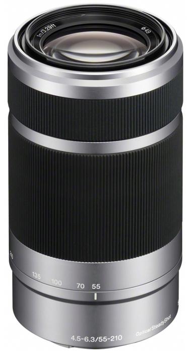 Sony E 55-210mm F4.5-6.3 OSS - obiektyw zmiennoogniskowy, SEL55210 Sony SEL55210