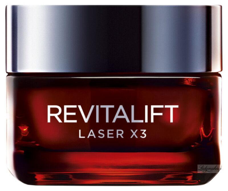 L''Oréal - REVITALIFT LASER X3 - Krem anti-age na dzień - 40+