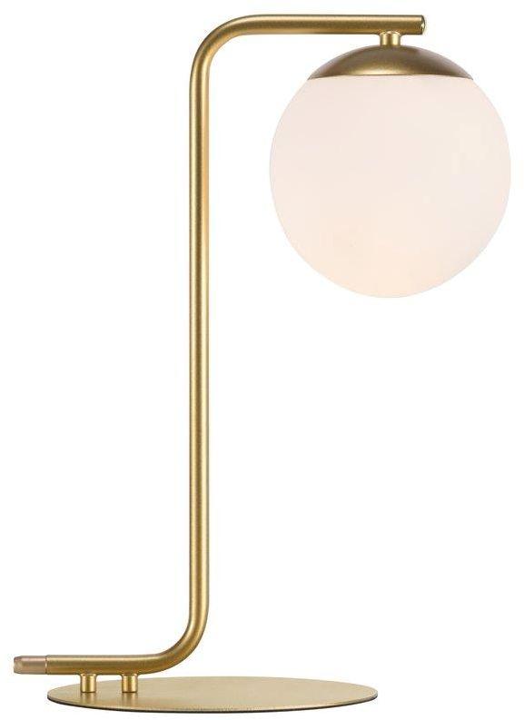 Lampa stołowa Grant 46635025 Nordlux minimalistyczna oprawa w kolorze mosiężnym