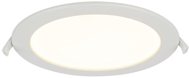 Globo POLLY 12392-18 oprawa oświetleniowa biała LED 18W 3000K 22cm IP44