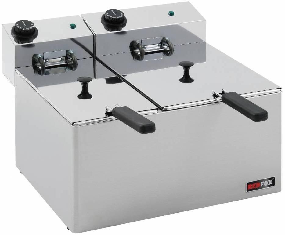 Frytownica elektryczna 5+8L 5100W 450x420x(H)300mm