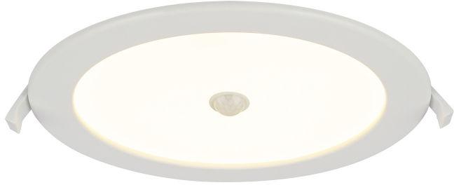 Globo POLLY 12392-18S oprawa oświetleniowa biała LED 18W 3000K 22cm IP44