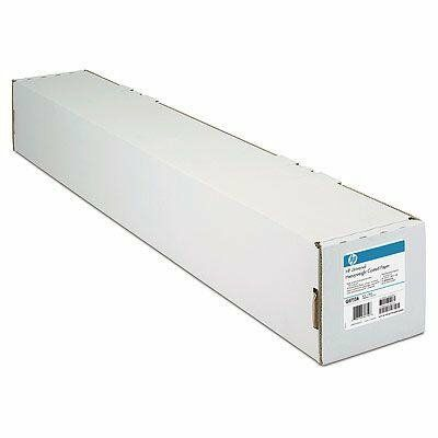 Papier w roli HP Bright White Inkjet 90 g/m2, A0/841 mm x 45.7 m Q1444A