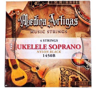 Medina Artigas 1450BK struny do ukulele kolor czarny