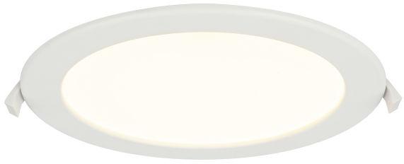 Globo POLLY 12392-20D oprawa oświetleniowa biała LED 20W 3000-4000-6000K 22cm