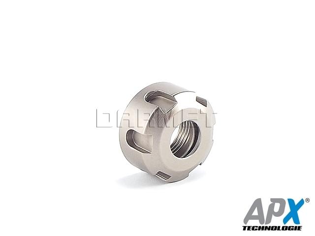 Nakrętka mocująca do tulejek ER16 - APX (9833)