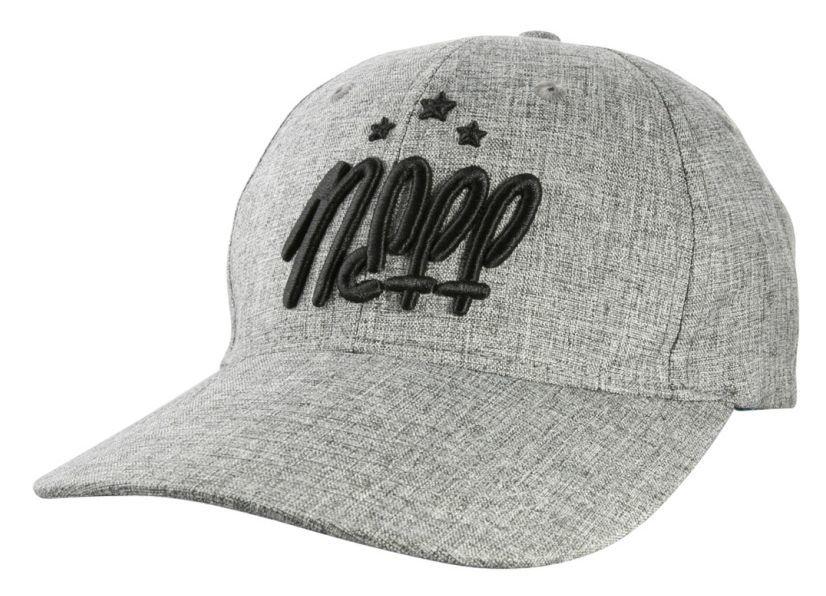 czapka damska NEFF SUNDAY BASEBALL CAP GREY