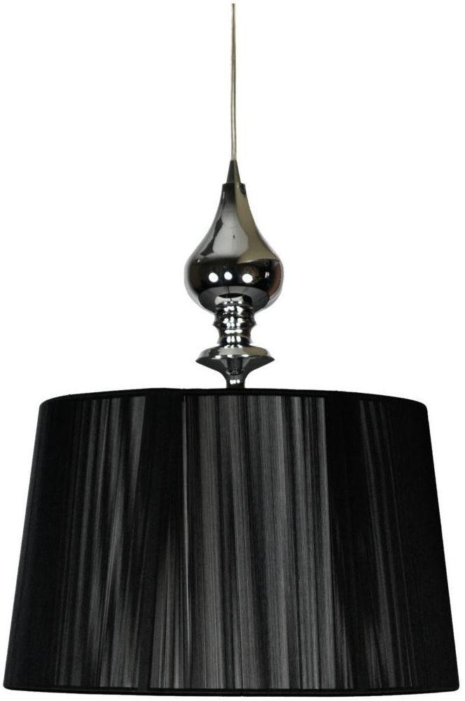 Lampa wisząca GILLENIA czarna E27 CANDELLUX