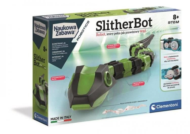 Clementoni Robot Wąż SlitherBot 50686
