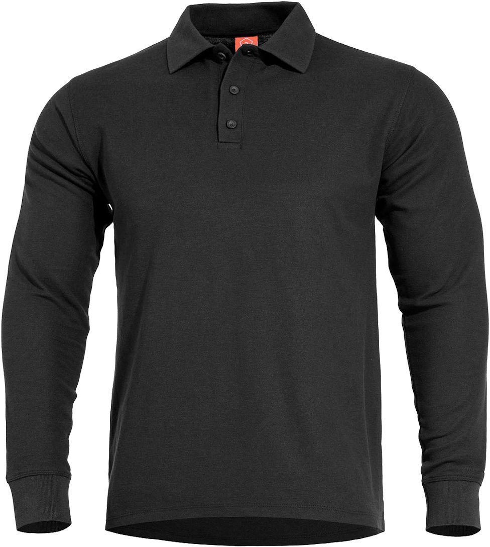 Koszulka polo Pentagon Aniketos Black D/R (K09013-01)