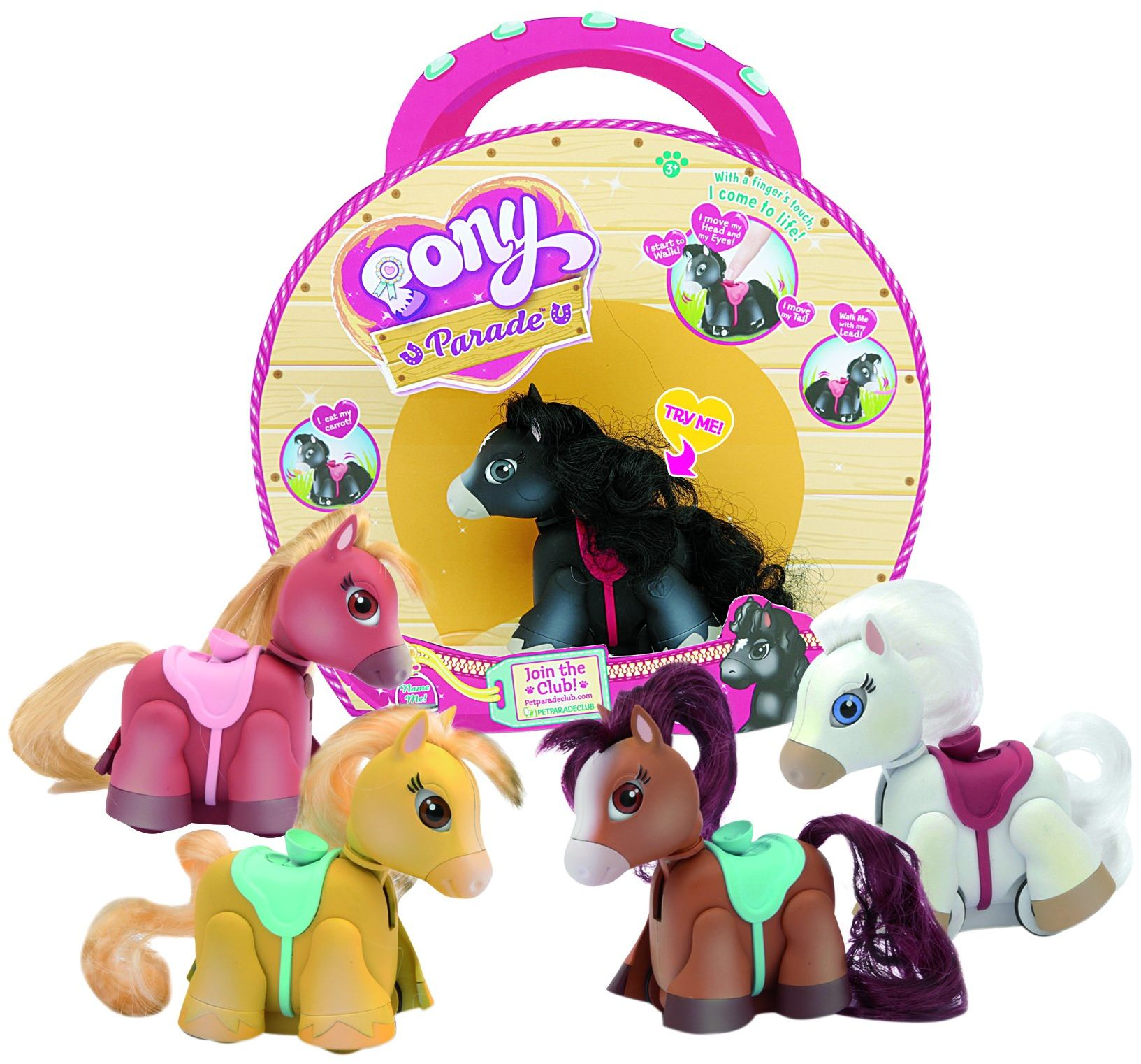 Pet Parade-PTN0000 Pet Parade Pony, 22 x 20 cm (Giochi Preziosi Spagna PTN0000)