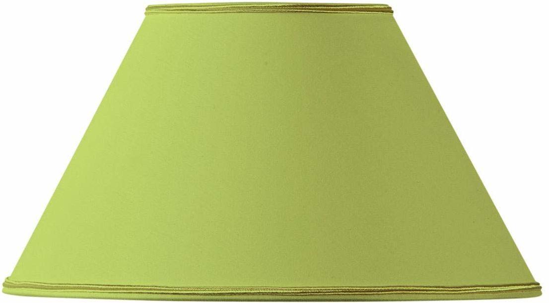 Klosz lampy w kształcie wiktoriańskim, 20 x 09 x 12 cm, jasnozielony