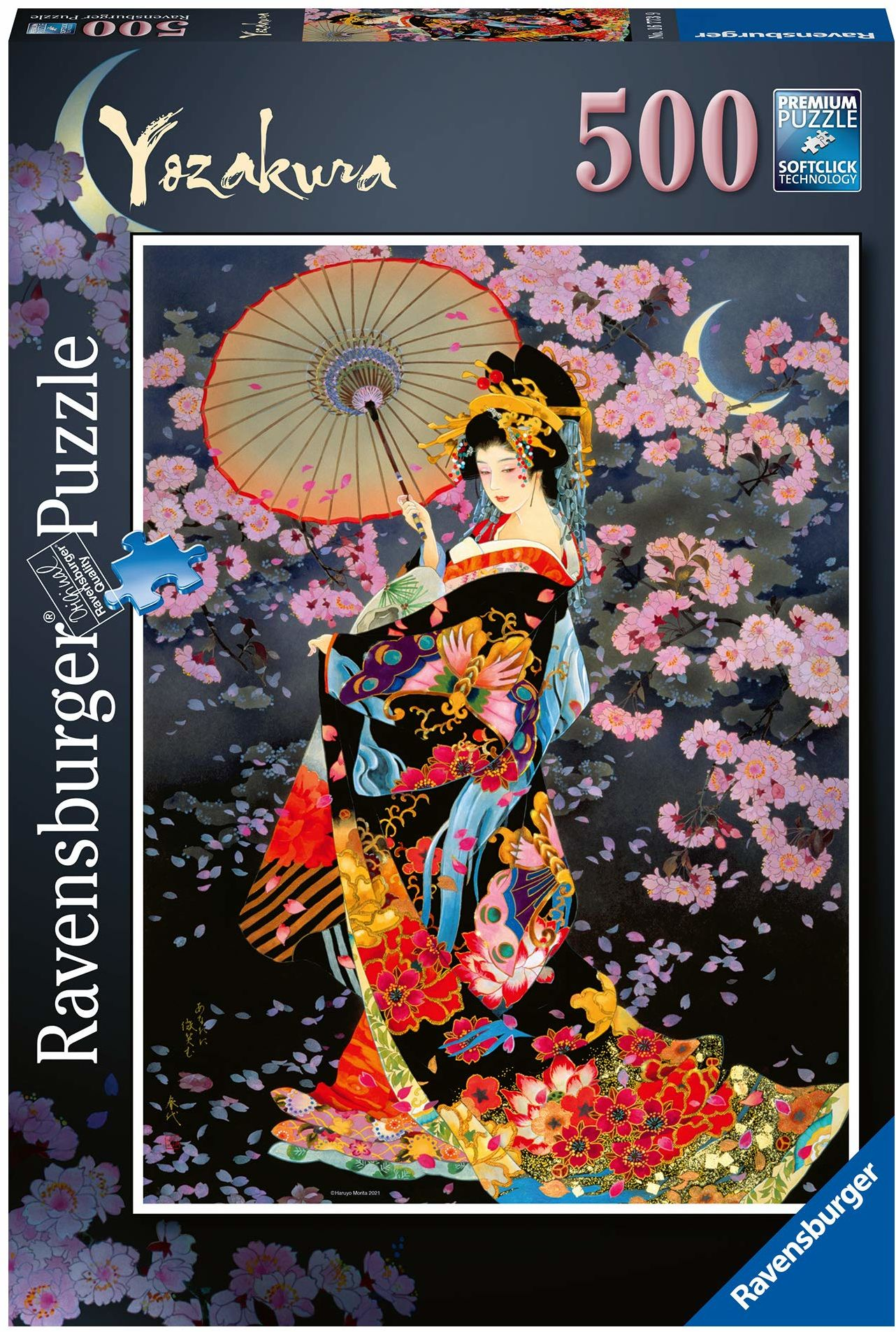 Ravensburger 16773 Yozakura puzzle 500 sztuk dla dorosłych i dzieci od 10 lat