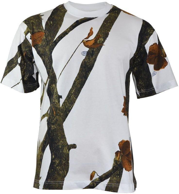 MFH Koszulka T-shirt Hunter-Snow