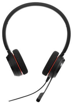 Jabra EVOLVE 20 MS Stereo USB Headband, Noise cancelling, USB