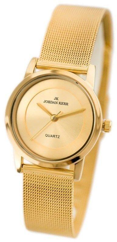 Zegarek Damski Jordan Kerr L126 srebrny