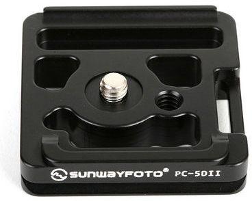 Sunwayfoto PC-5DII szybkozłączka do aparatu Canon 5D MK II