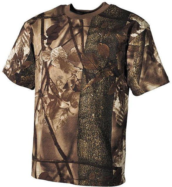 MFH Koszulka T-shirt Hunter-Braun