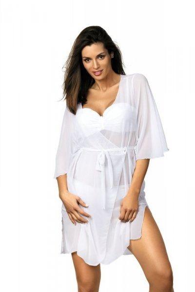 Sukienka plażowa marko judy bianco m-444 (1)