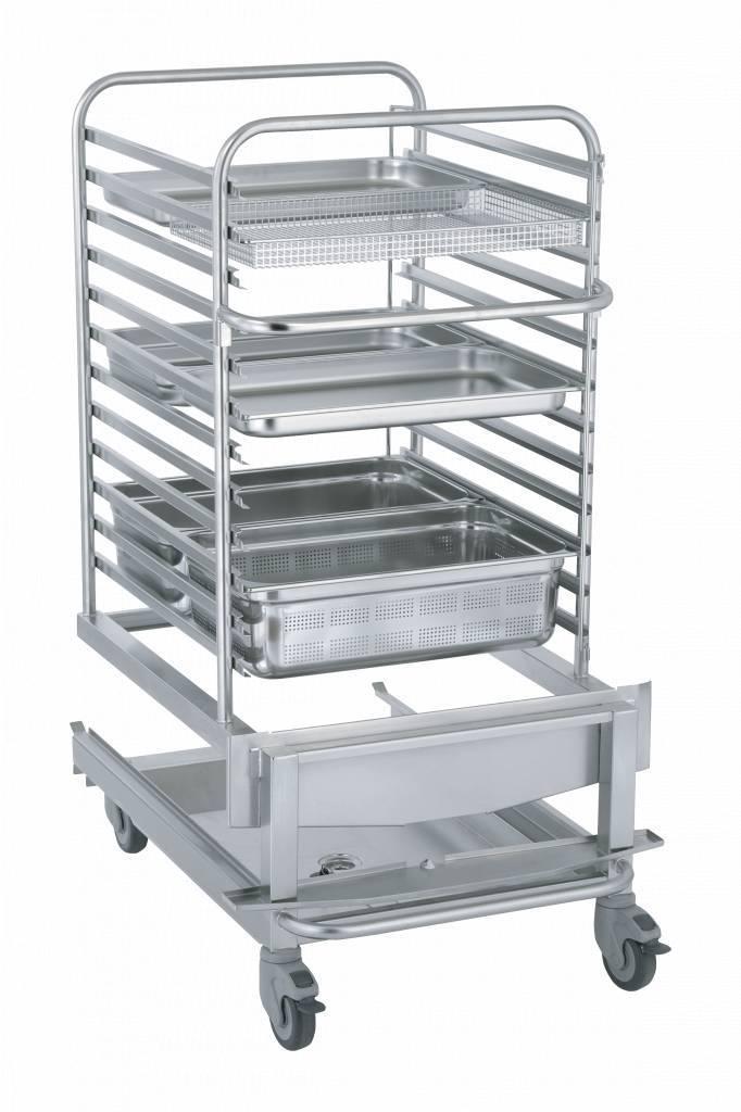 Wózek bankietowy dla pieca 1221 60 talerzy śr. 280mm