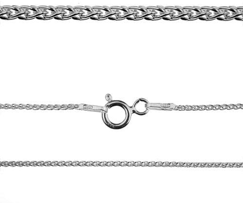 Łańcuszek srebrny do bransoletki