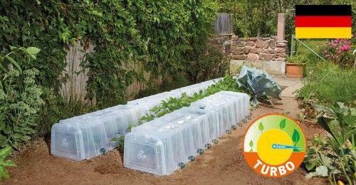 Tunel Sunny - Łatwe podlewanie, Szybki wzrost, wcześniejsze zbiory - 105x40x30 cm