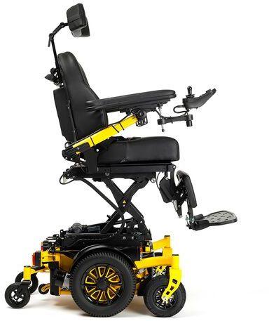 Wózek inwalidzki elektryczny Sigma 230 Vermeiren - napęd na centralne koło