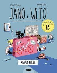 Jano i Wito uczą mówić Różowy rower - Wiola Wołoszyn