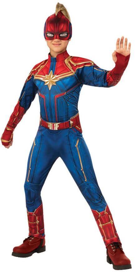 Kostium Kapitan Marvel Deluxe dla dziewczynki - Roz. S