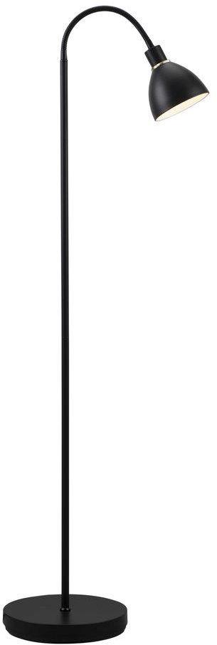 Lampa podłogowa Ray 63214003 Nordlux czarna oprawa w nowoczesnym stylu
